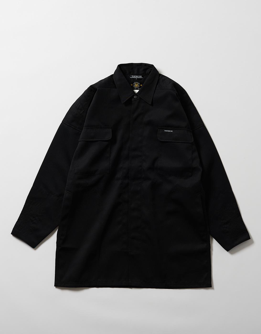 TOBI HEAVY SHIRTS 2530-711 BLACK