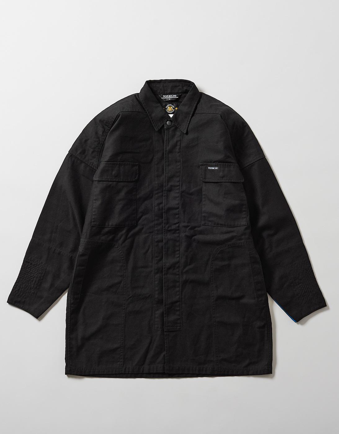 TOBI HEAVY SHIRTS 4441-711 BLACK