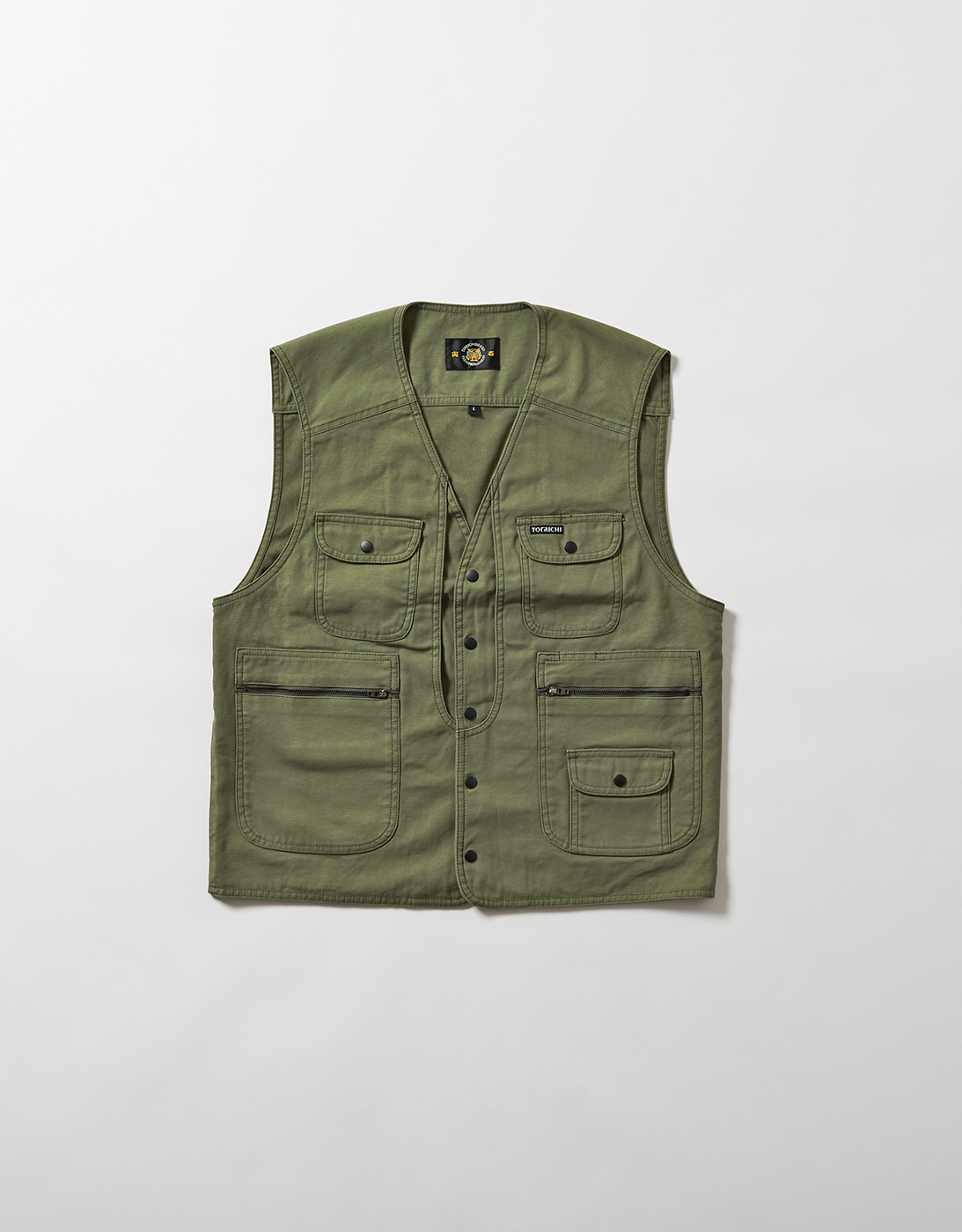 ARMY VEST ST 4441-715  OLIVE DRAB