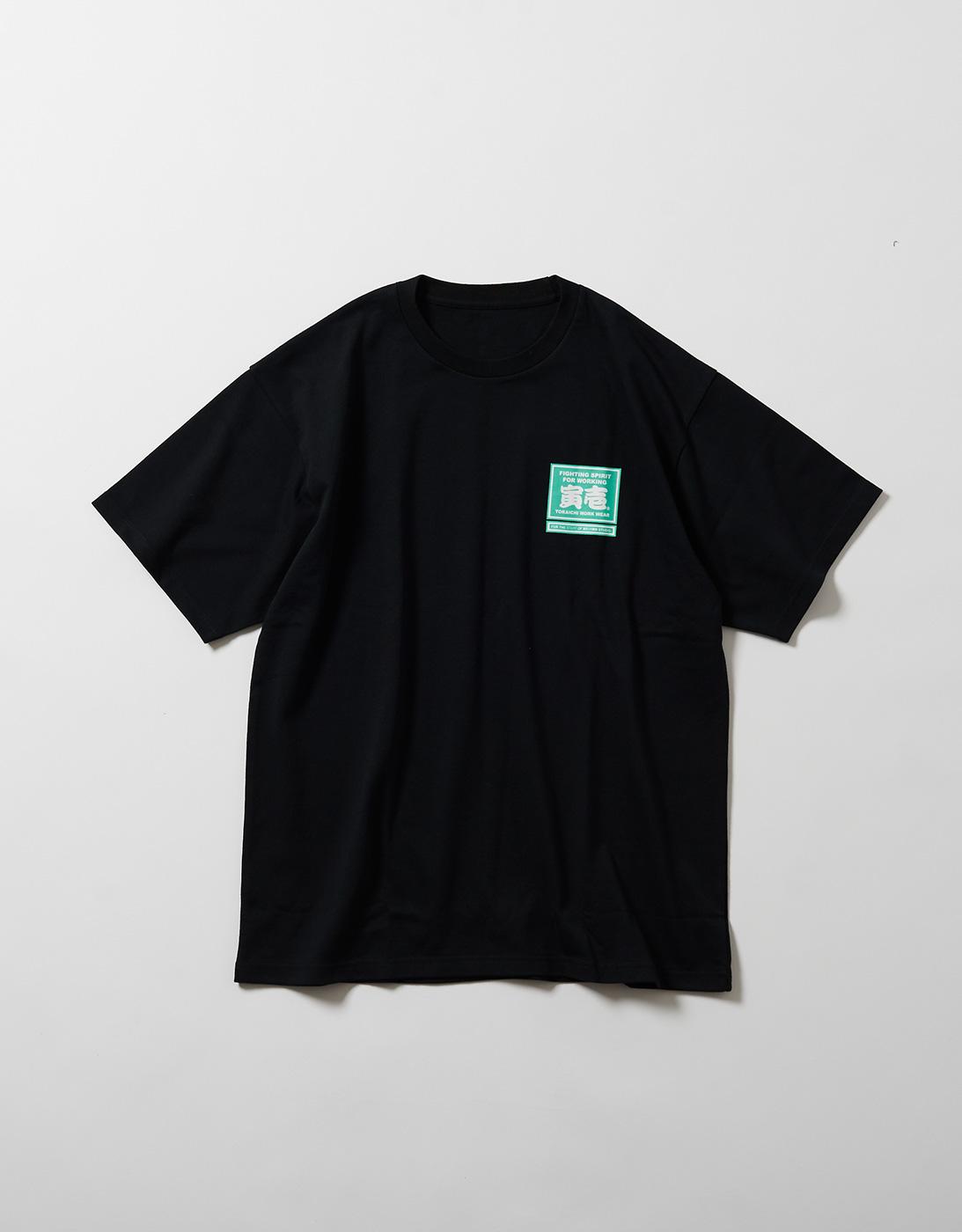 TORA LOGO WORK T-shirts for THE STAFF of ARSHAM STUDIO 1807-618 BLACK