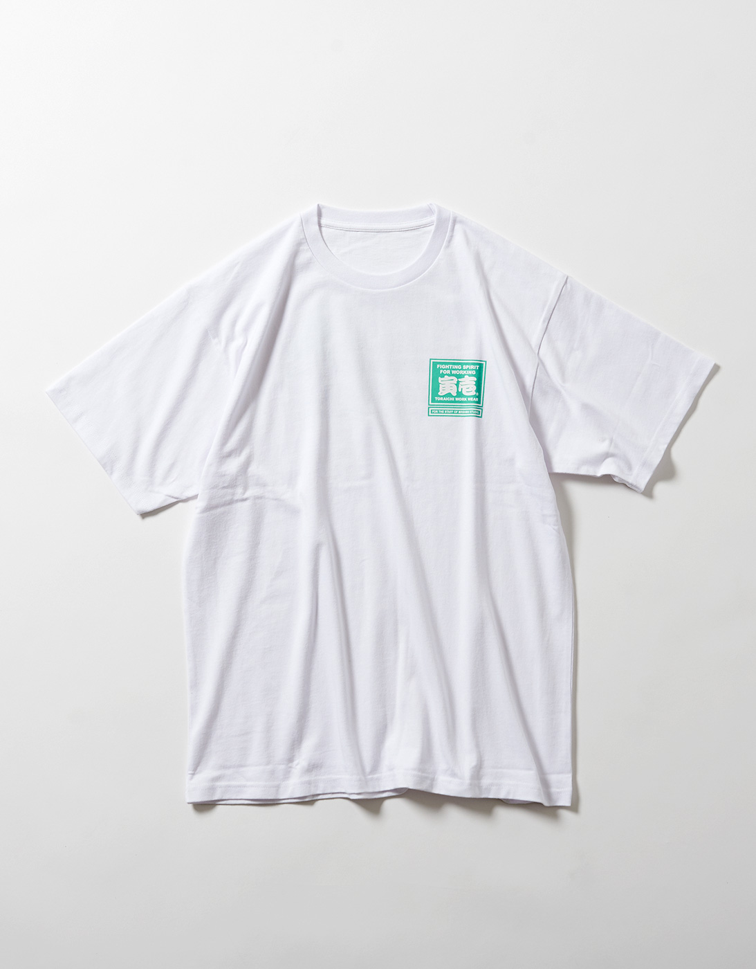 TORA LOGO WORK T-shirts for THE STAFF of ARSHAM STUDIO 1807-618 WHITE