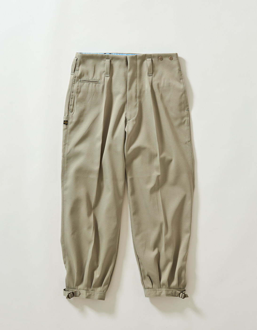 KNICKERBOCKERS PANTS 2530-718 GREEN BEIGE