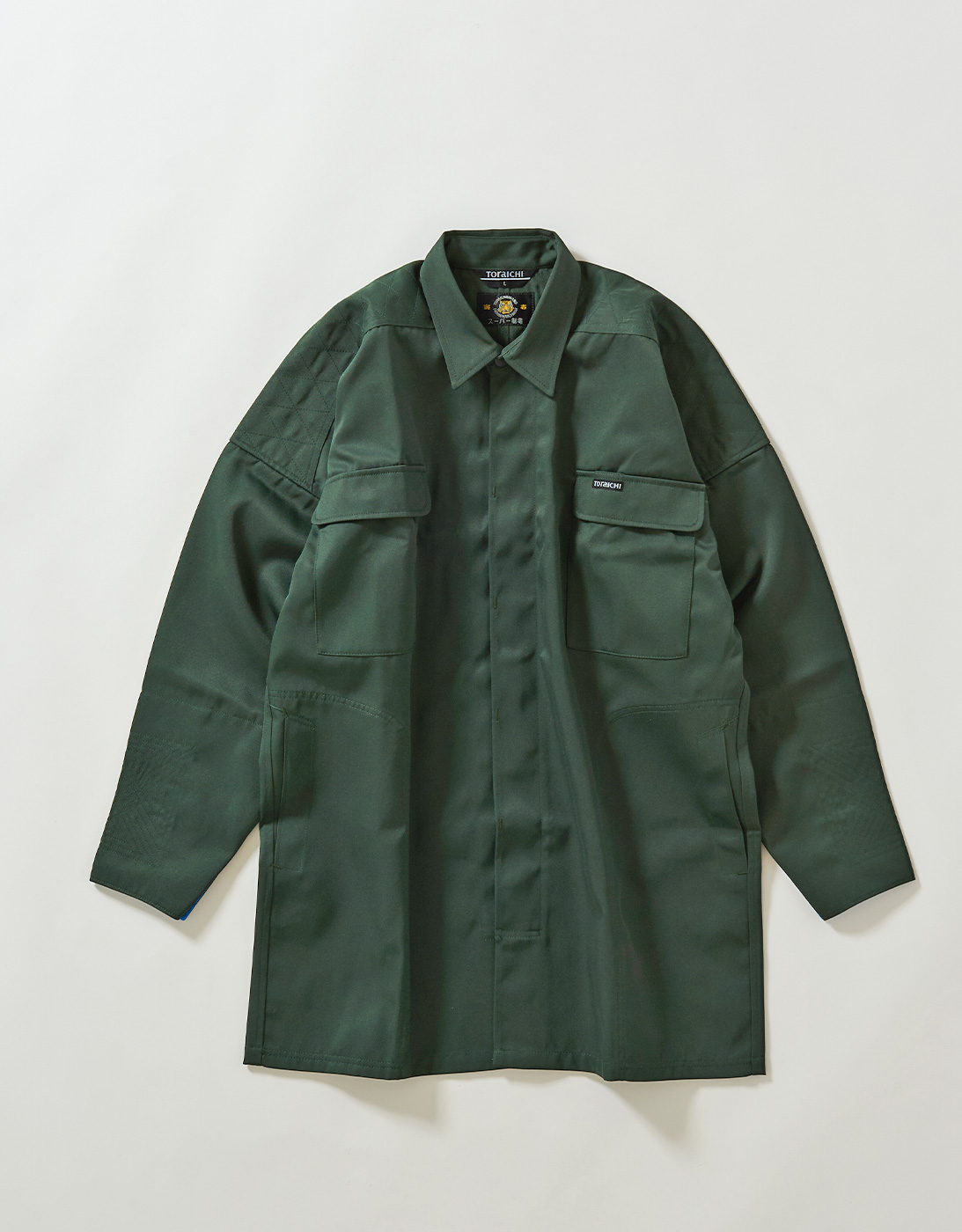 TOBI HEAVY SHIRTS 2530-711 DARK GREEN