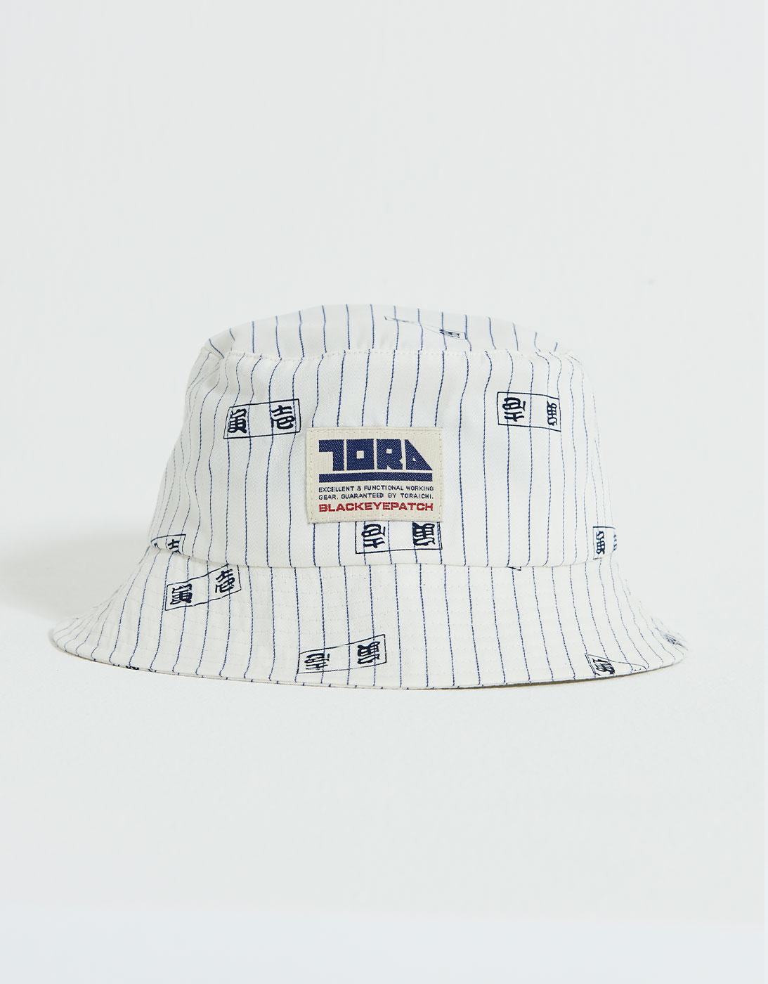 TORAICHI BUCKET HAT 1809-912 OFF WHITE (BlackEyePatch & TORAICHI Collaboration)